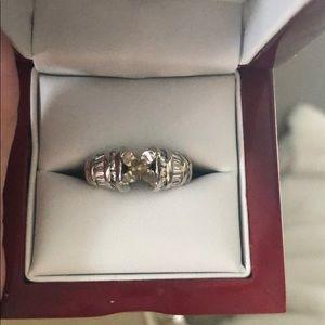 Helzberg Diamond setting ring 1 1/4 carat 💍💍7